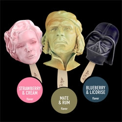 Pop Culture Popsicles from STOYN Ice Cream.