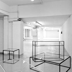 The minimal Strand tables by Dare Studio.