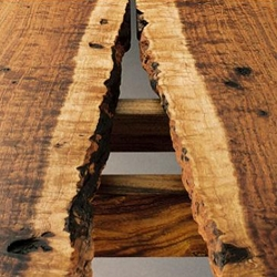 Stranger Furniture - beautiful sustainable furniture made from salvaged trees.