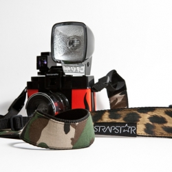 Strapsar make handsewn camera straps with an urban touch. Straight from Germany. Watch out!