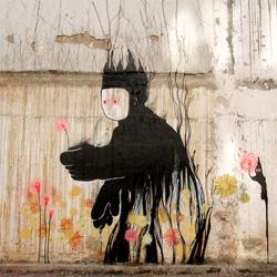 Gorgeous street art from Pia In Rio de Janeiro