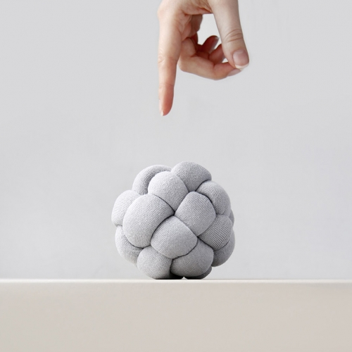 "Ohhio is kickstarting Braid, ""a new material for stylish, chunky knits."" The Braid Stress Ball is a fun example of what you can do with it - from little projects to big blankets and more!"