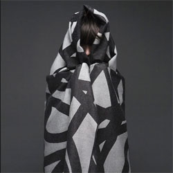 Beautiful geometric scarves from String Theory.