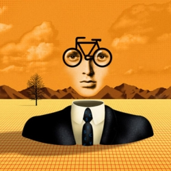 London Based Illustrator Stuart Briers has worked as a freelance illustrator for over 20 years. His Magritte meet Dali style is just beautiful !