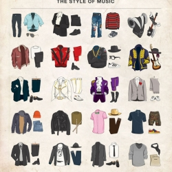 20 Iconic Male Musicians Outfits by Everyguyed and Moxy Creative