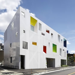 Tokyo's Sugamo Shinkin bank is fresh, original, and capable of putting a smile on the glummest of customers faces… shouldn't all banking be like this? From Emmanuelle Moureaux Architecture + Design.