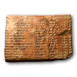 See the roots of mathematics in 13  cuneiform clay tablets of ancient Mesopotamia, from 1900 to 1700 B.C. The tablets are on display until Dec. 17 at the Institute for the Study of the Ancient World, part of New York University.