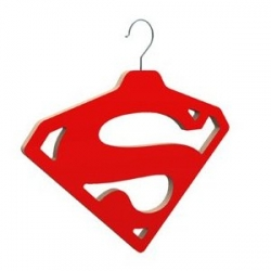 Comunistar Design have created the ultimate superhero hanger.