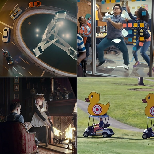 Super Bowl 2020 - the ads are rolling in, here are some favorites so far! (Porsche, Amazon Alexa, TurboTax, Michelob Ultra, Sodastream, Snickers, and Doritos Cool Ranch)