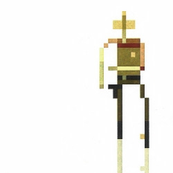 I love SUPERBROTHERS aka Craig D. Adams' awesome  minimalist pixel art