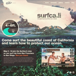 Nike 6.0 presents a surf journey down the coast of California from San Francisco to San Diego in order to teach you how you can help protect their ocean and beaches.