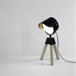 South African design firm Sulta's ROOKIE Desk Lamp is as sleek as it is cute.