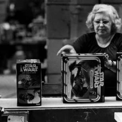 Star Wars Action Figures Production Line Circa 1978.
