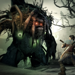 "Love the art direction in Xbox 360's ""Fable 2""."