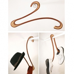 Asaf Yogev  | Swan Hanger made of wood