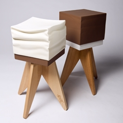 Sweet stool is inspired on making ice cream. At Spell we like to say Sweet is dipped in pleasure. This stool is part of the let's celebrate collection and available in a broad variety of tasty colours.