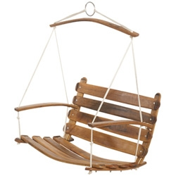 the conran shop's barrel swing chair