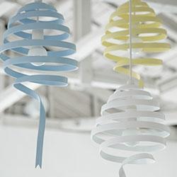 Swing pendant Light by Monochro Studio Design.