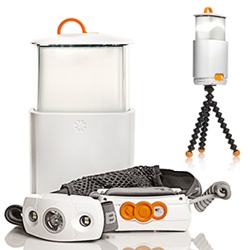 Joby Gorillatorch SWITCHBACK! It goes from headlamp to lantern ~ with various lighting modes, up to 130 lumens of brightness!