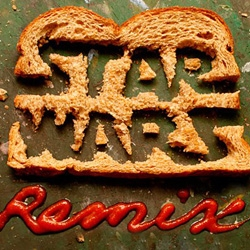 The Star Wars Remix project launches today with handmade toast logo by Skull-A-Day's Noah Scalin.