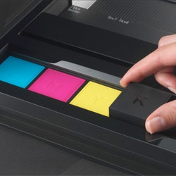 Incredible and simple printer concept from Artefact called See What You Print (SWYP).