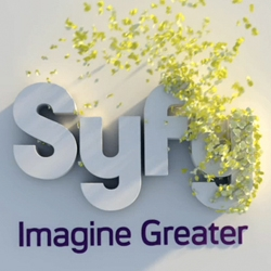 New SyFy logo idents, a collaboration between Proud Creative and ManvsMachine.