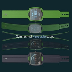 On fun design concepts, here's a submission by Agustin Otegui. X4: 2 watch faces, two straps, 4 options, in one watch... also check out his first place Bombay Sapphire Ice-olate winning design.