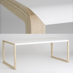 Gorgeous joints on the Mojo Dining Table by De Design Copenhagen