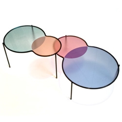 Out Of Stock Design's Hues Tables ~ venn diagrams at their best!