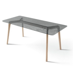 Oliver Schick's Woodworks table is beautiful!