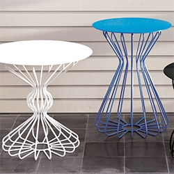 NotNeutral's ribbon accent tables