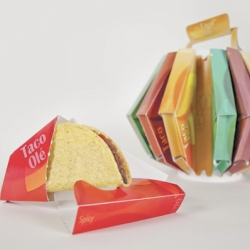 Taco Ole is a packaging design concept with the user in mind.
