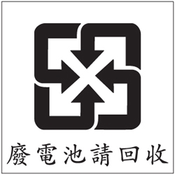 Taiwan has a great recycling logo! (hint: look at the negative space)