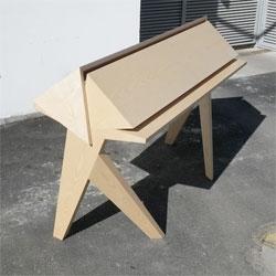 'Tangram' desk by Ebénisterie Générale.