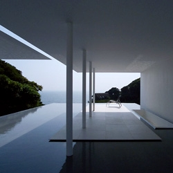 Tanaka Residence in Yokosuka designed by Katsufumi Kubota, a master of sleek Japanese styling.