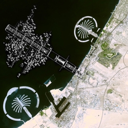Nice collages: Tange, Wright, Corbu and Archigram projects in Dubai. part of the marketing of the Al Manakh book by Koolhaas