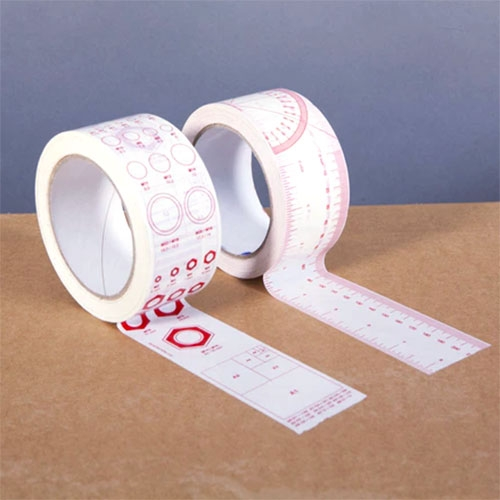 Quickstarter #1: Tape Stickers! By Oscar Lhermitte. 2 rolls that you can use as tape or cut up as stickers: (1) Ruler and protractor (2) A formats, Arial sizes, line thicknesses, bolts/spanners sizes, tap sizes, radius gauge.
