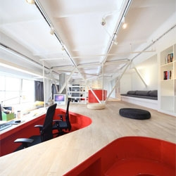 Taranta Creations' Shanghai Red Town Office.