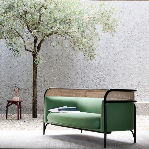 Gebrüeder Thonet Vienna Targa Sofa designed by GamFratesi