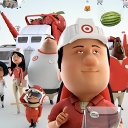 Nice and great CG characters is this new spot for Target from Motion Theory and director Chris Riehl.
