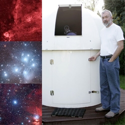 Greg Parker's homemade backyard digital observatory + refrigerated CCD, hand rotated dome, and brilliant photoshopping = space images to rival Hubble's?