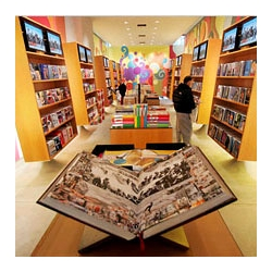 Taschen has opened its own store in SoHo, featuring favorite Taschen titles, including 'The Big Book of Breasts' and the 'Cabinet of Natural Curiosities.'