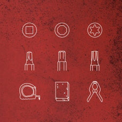 Everyday Tools Vector Icons by Andrew Zo.