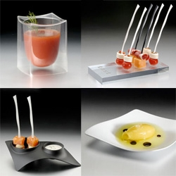 TAST.ES ~ incredibly gorgeous designer catering ware... really, you will never look at party throwing the same way again, the soup/shot/dessert bowls are my favorite by far... check out the whole collection