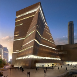 The New Project for the Tate Modern in London.