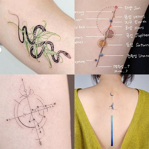 Beautiful tattoo inspiration at Studio by Sol