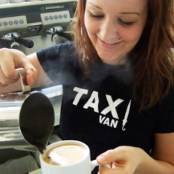 Awesome idea ~ Ad agency TAXI in vancouver actually runs its own cafe in the front ~ not just a great place for meetings, but a perfect way to stay in touch with the people they are designing for!
