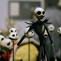 Images from the opening party of Tim Burton's exhibit at MoMA.