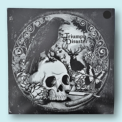 Triumph & Disaster Logo Tee comes packaged in this beautiful record sleeve.