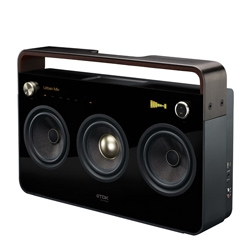TDK brings back the boombox with their stylish modern 2 and 3 speaker models.